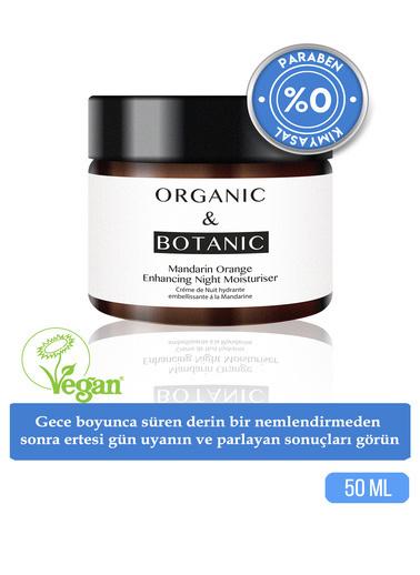 Organic ORGANIC BOTANIC GECE KREMİ ONARICI MAND.PORT.30ml Renksiz